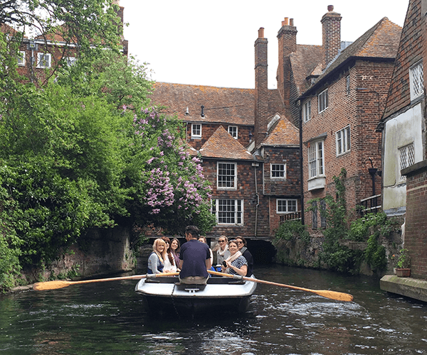 River Stour boat tour Canterbury
