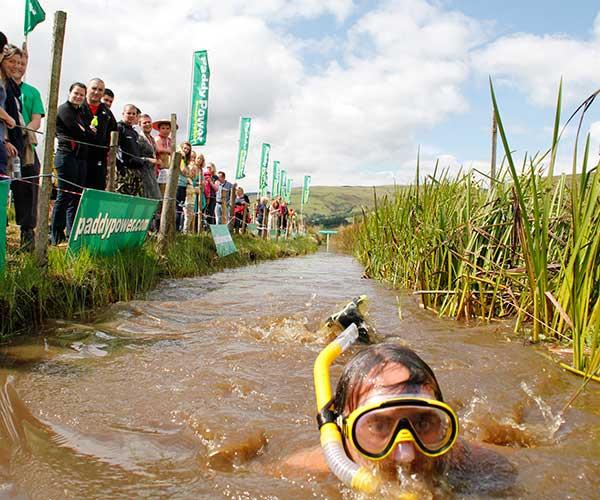 Bog Snorkelling World Championships Wales