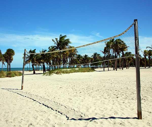 South Beach volley