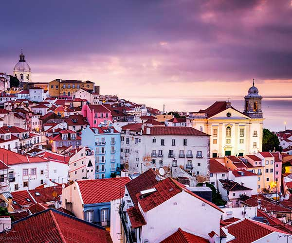 Alfama district Lisbon